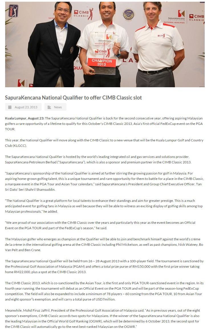 Asian-Tour---SapuraKencana-national-qualifier-to-offer-CIMB-Classic-slot-(250814)