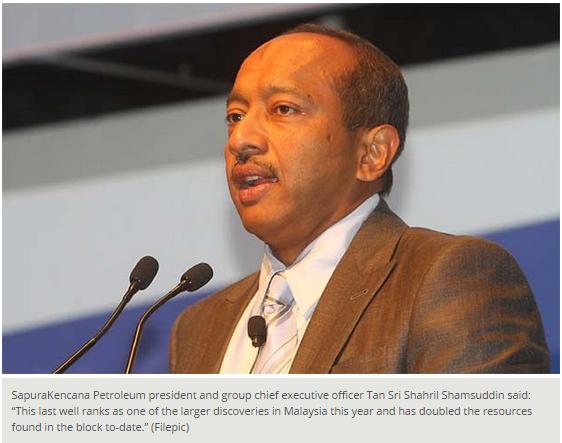 The Star - SapuraKencana unit discovers gas offshore Sarawak (2) (020914)
